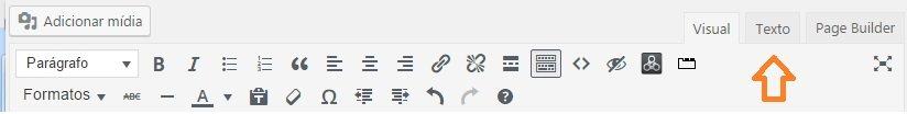 ver o código de um post no wordpress