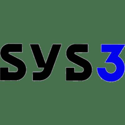 Logo da marca Sys3